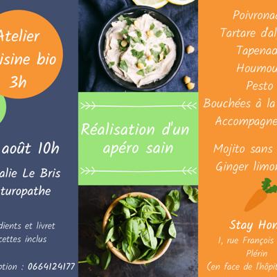 Atelier cuisine BIO - avec Nathalie LE BRIS / Naturopathe en Côtes d''Armor, près de Saint-Brieuc (22)